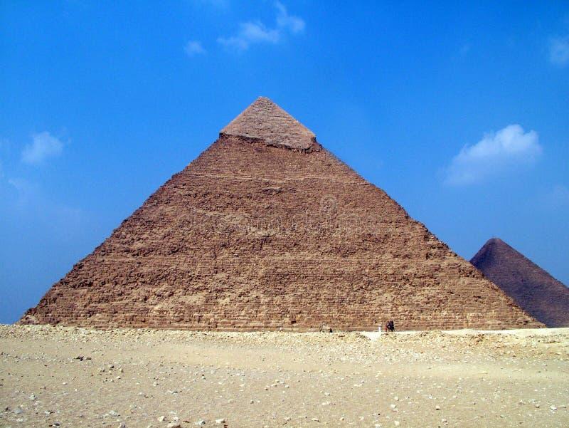 Pyramide in Ägypten lizenzfreie stockbilder