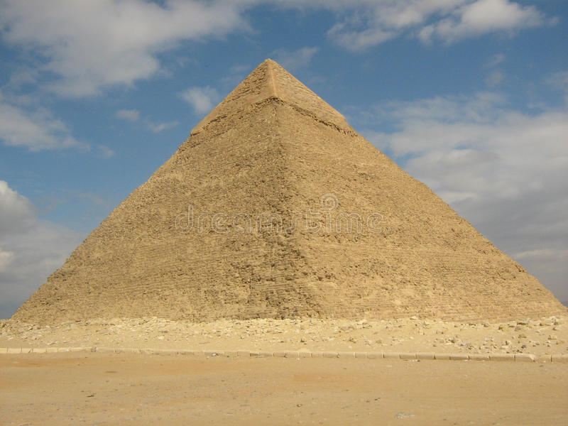 Pyramide stockfotos