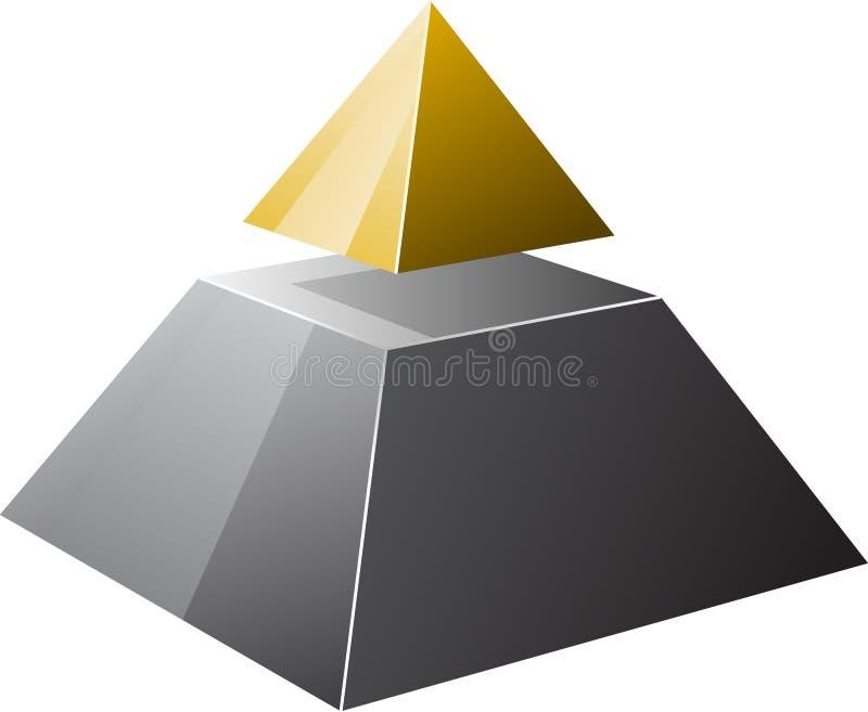 Pyramide stock abbildung