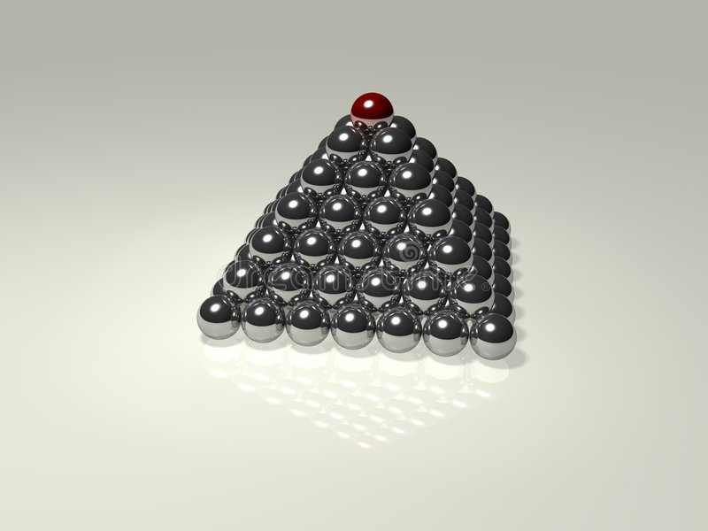 Pyramide illustration libre de droits