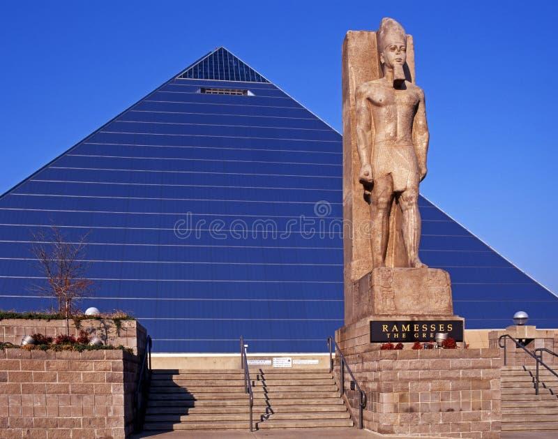 Pyramide-Arena, Memphis, USA. stockbilder