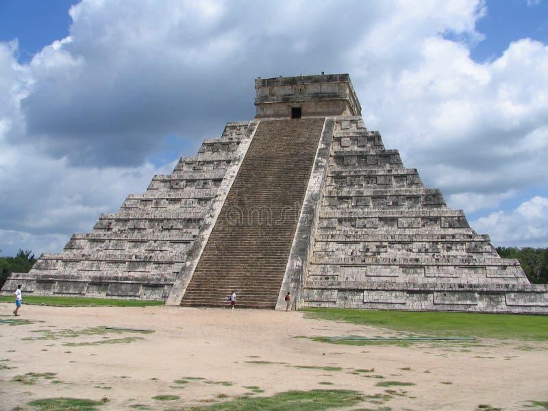 Pyramide - Chichen Itza - Yucatan/Mexique photo stock