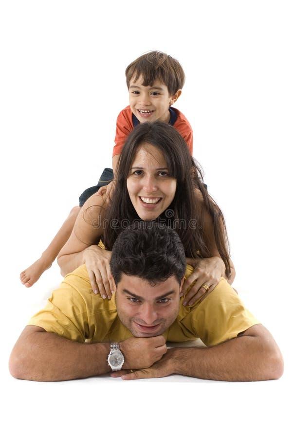 Pyramide de famille photographie stock