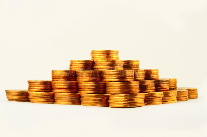 Pyramide de finances image stock