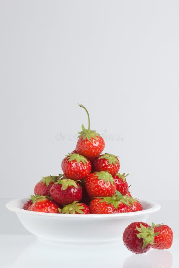 Pyramide de fraise photo libre de droits