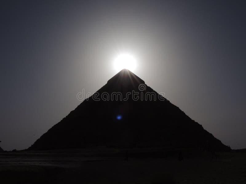 Pyramide de Kefren en Egypte image libre de droits