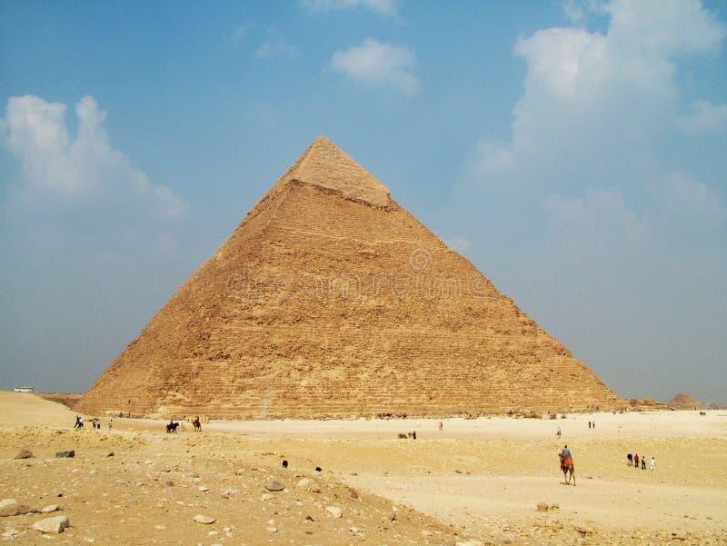 pyramide de l'Egypte images stock