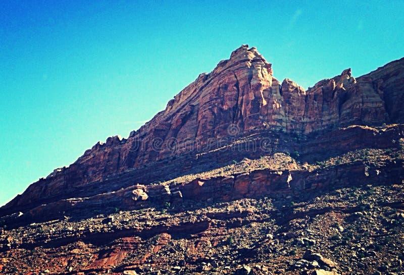Pyramide de l'Utah images libres de droits