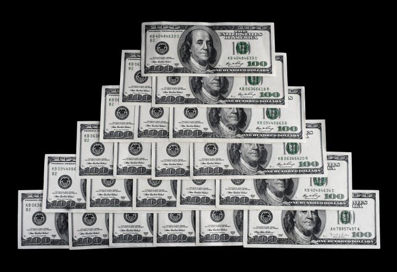 Pyramide de Money images stock