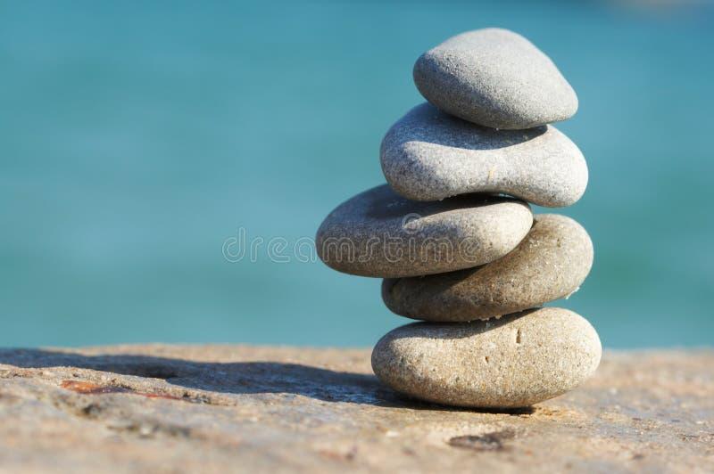 Pyramide des pierres images libres de droits