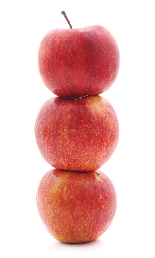 Pyramide des pommes images stock