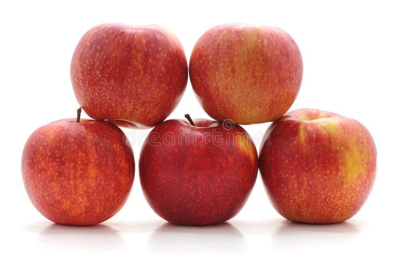 Pyramide des pommes photos stock