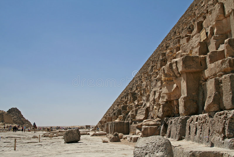 Pyramide grande photographie stock libre de droits