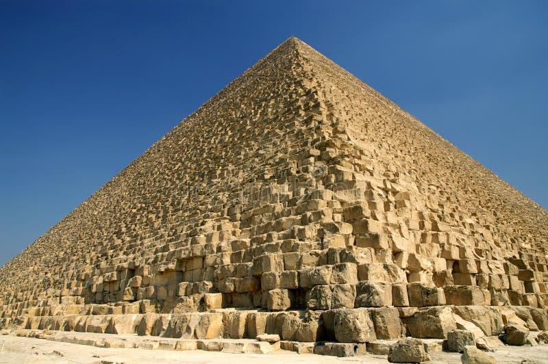 Pyramide grande de Giza photographie stock