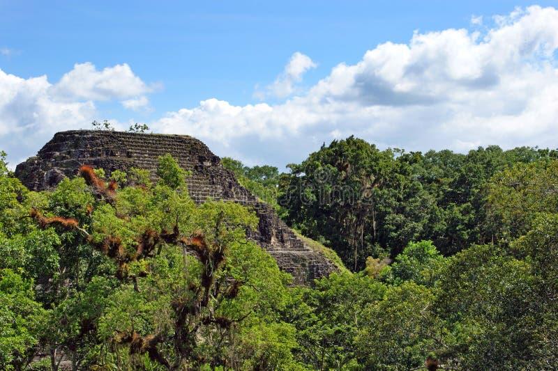 pyramide maya antique image stock