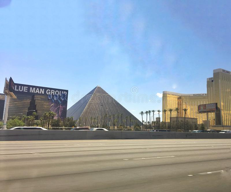 Pyramide Resort and Casino royalty free stock images
