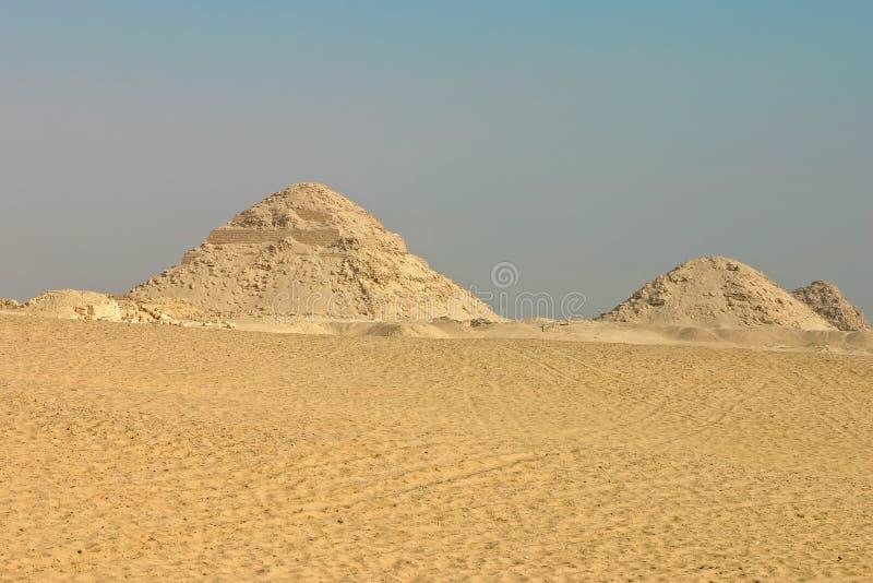 Pyramide ruinée photos stock