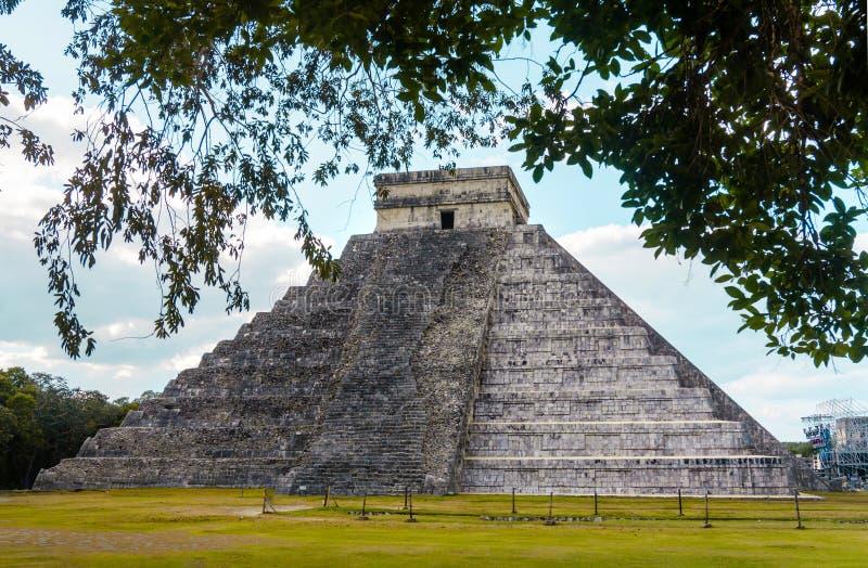 Pyramide von Chichen Itza stockfoto