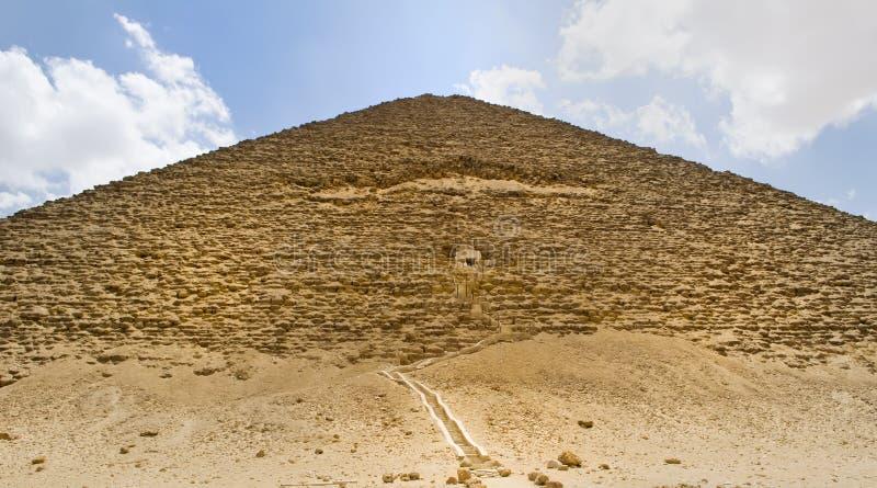 Pyramide von Dahshur stockfotos