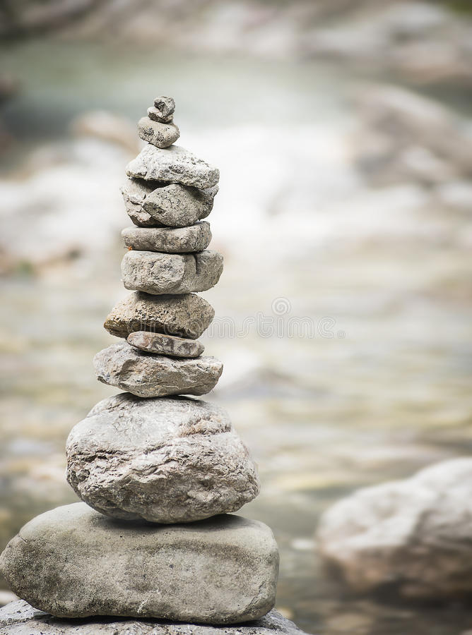 Pyramide of zen stones, wellness concept of balance and harmony. Pyramide of zen stones, wellness concept of balance stock image