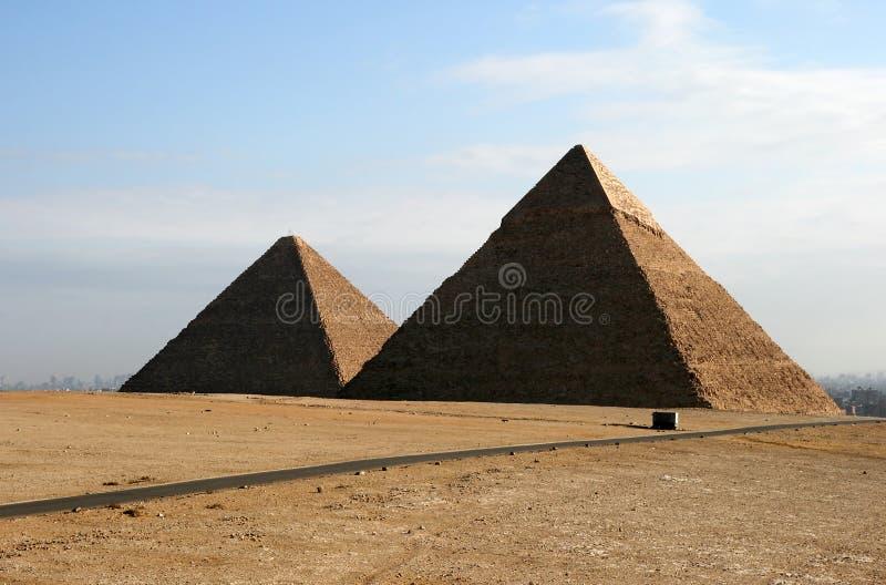 Pyramiden lizenzfreies stockfoto