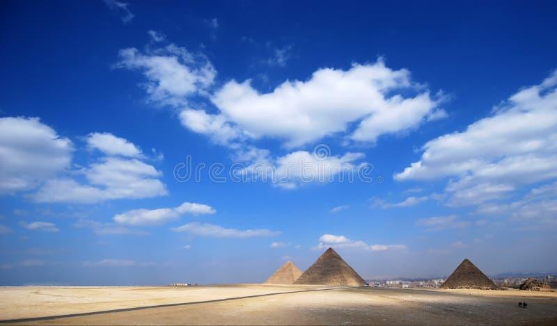 Pyramiden Stockfoto