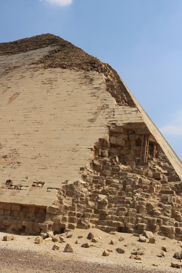 Pyramiden von Dahshur stockfoto