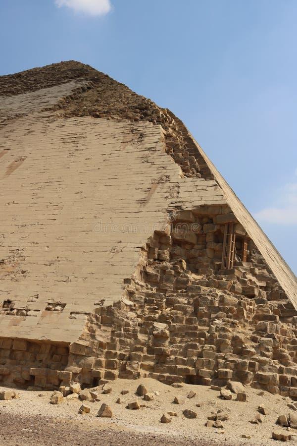 Pyramider av Dahshur arkivfoto