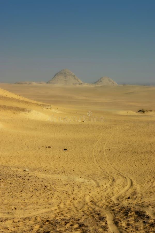 Pyramides égyptiennes photo libre de droits