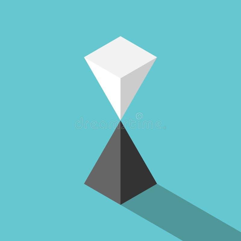 Pyramides, équilibre instable illustration libre de droits