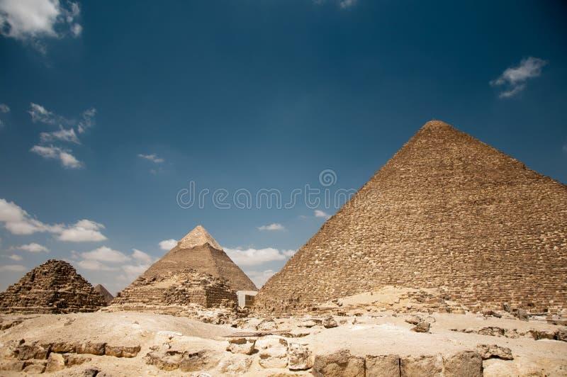 pyramides de giza photos stock
