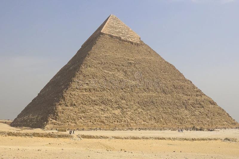 pyramides de giza Pyramides grandes de l'Egypte La septième merveille du monde Mégalithes antiques photo stock