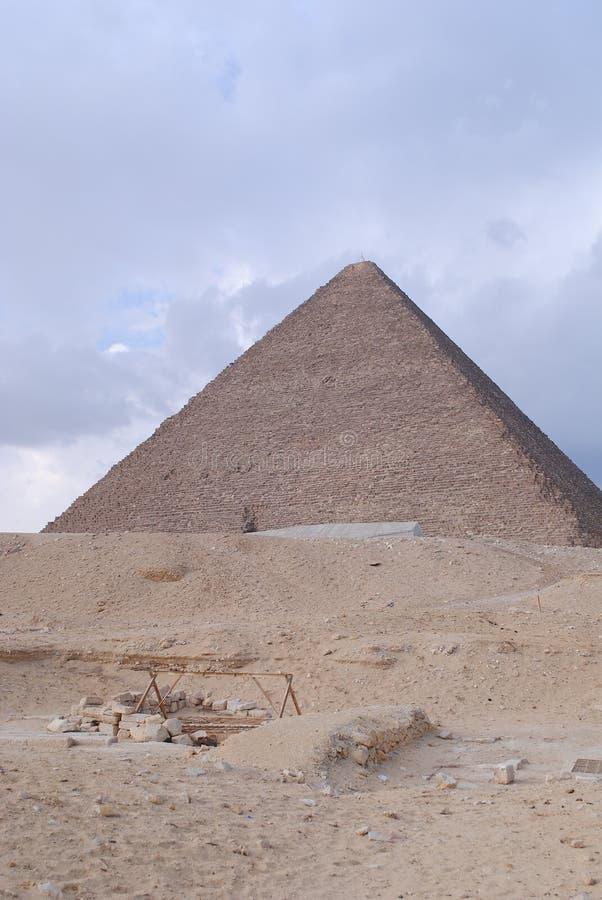 Pyramides en Egypte photos stock