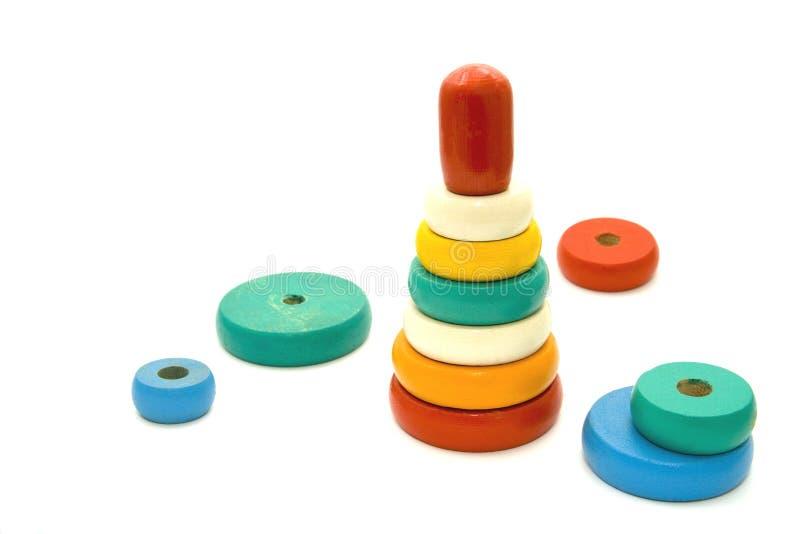 Pyramidespielzeug stockfotos