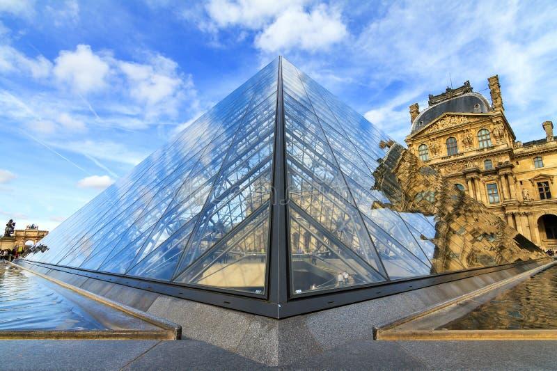 Pyramidpunkt royaltyfria bilder