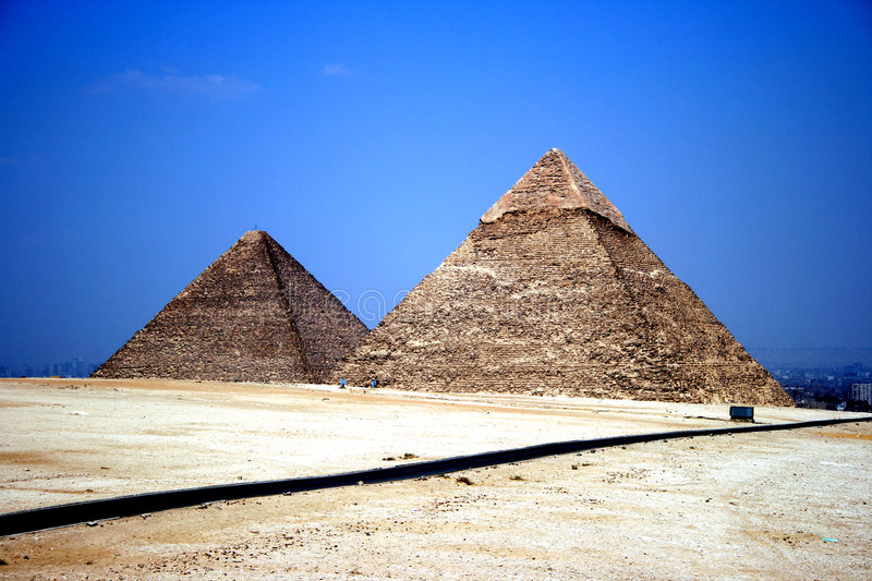 Download Pyramids stock photo. Image of death, desert, king, giza - 5099908
