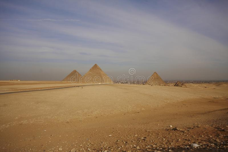 Download Pyramids of Egypt stock photo. Image of image, place - 14513726