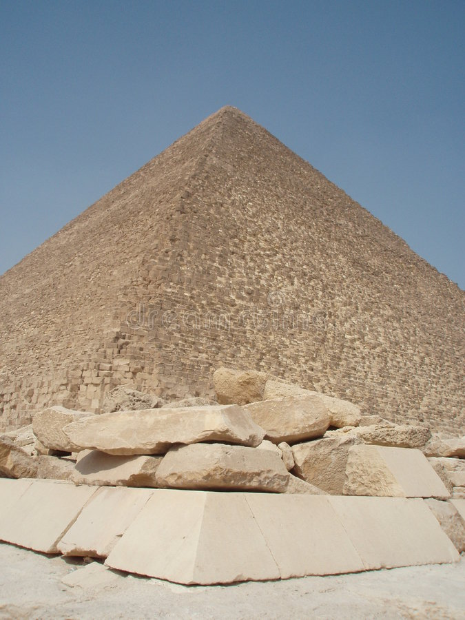 pyramidstenar royaltyfria bilder