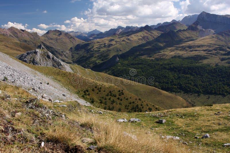 Pyrenees stockbild