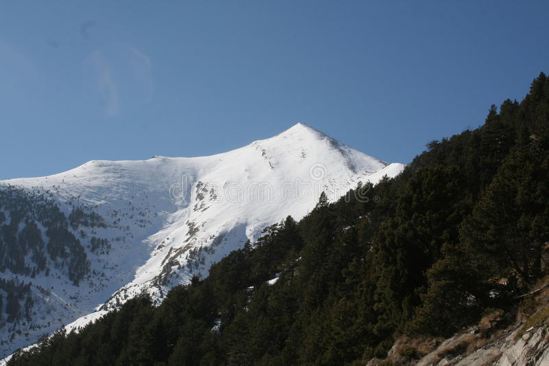 Pyrenees fotografie stock