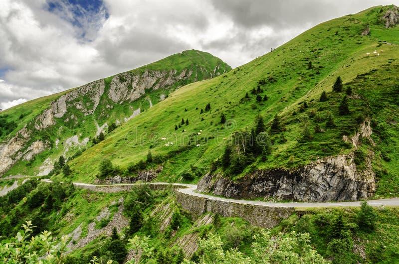 Pyrenees berg arkivfoto