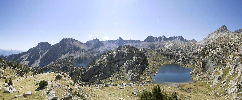 Pyrenees berg royaltyfri bild