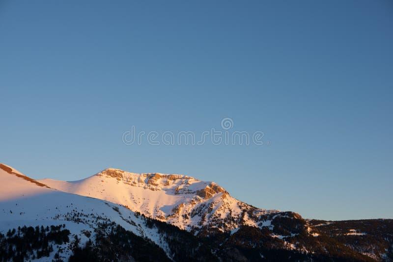 Pyrenees en España fotos de archivo libres de regalías