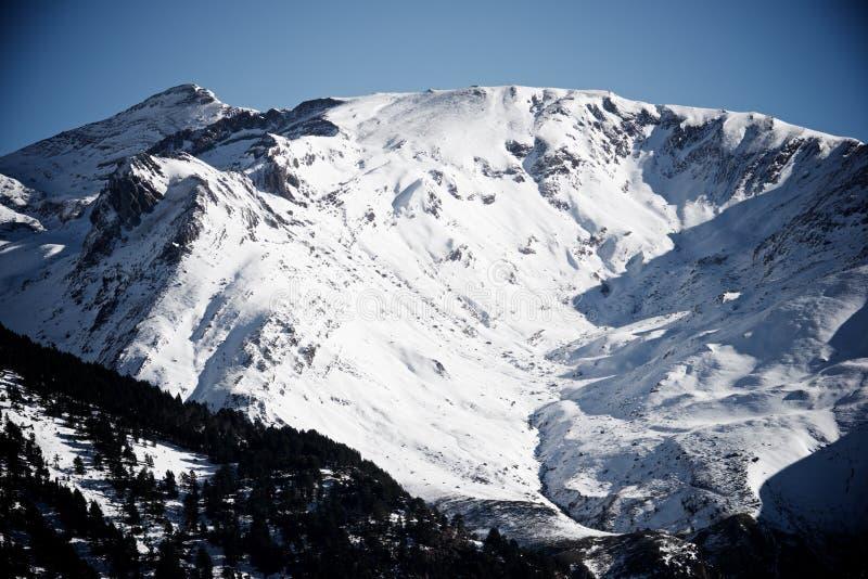 Pyrenees en España fotografía de archivo libre de regalías