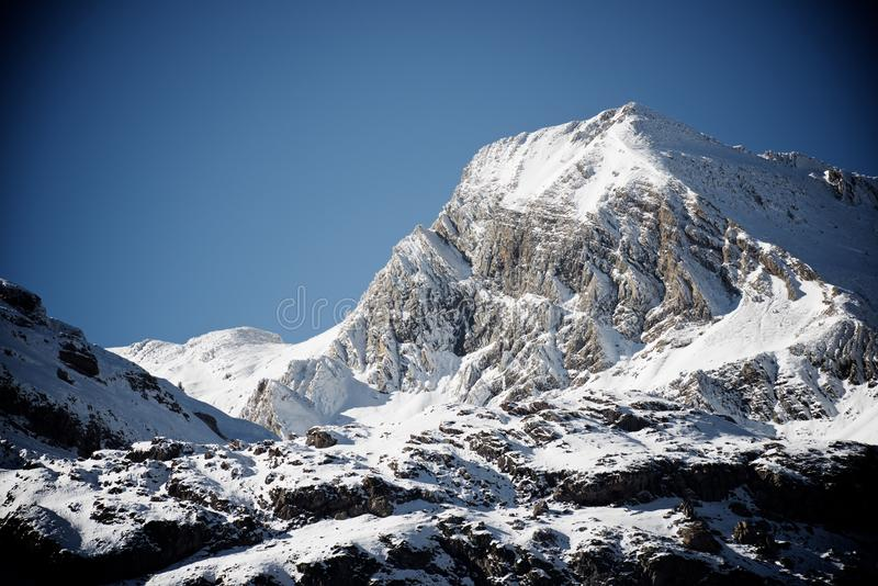 Pyrenees en España imagen de archivo libre de regalías