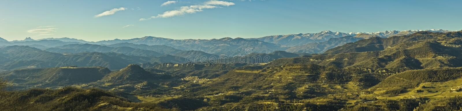 Pyrenees and Pyrenean foothills stock photos