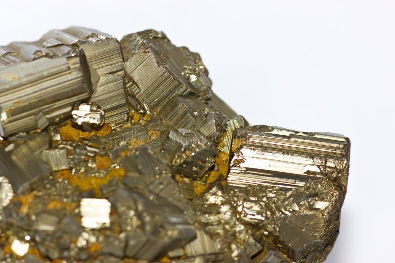 Pyrite Royalty Free Stock Image