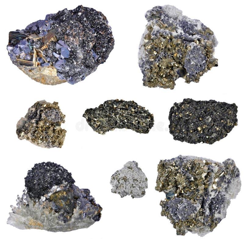 Pyrites  Collage Stock Image