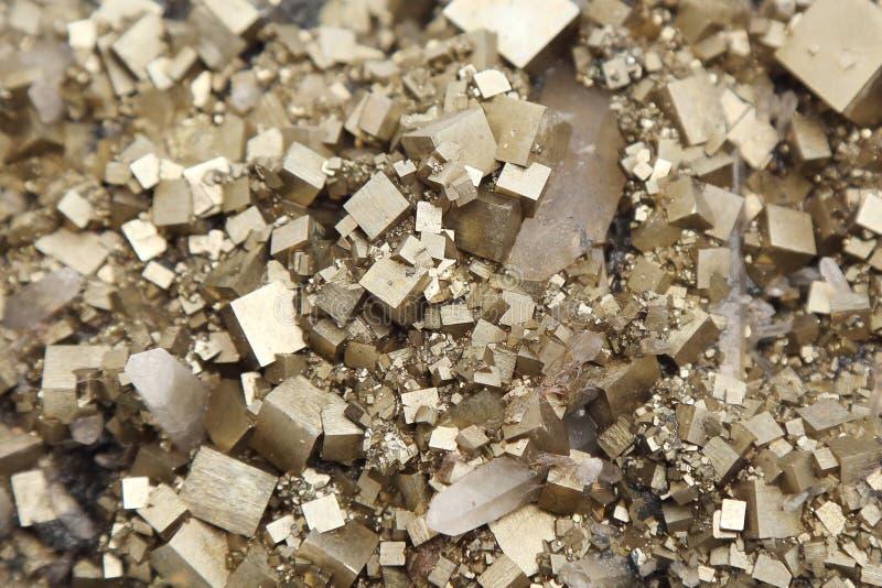 Download Pyrites With Galena, Calcite, Quartz Stock Image - Image: 37638763