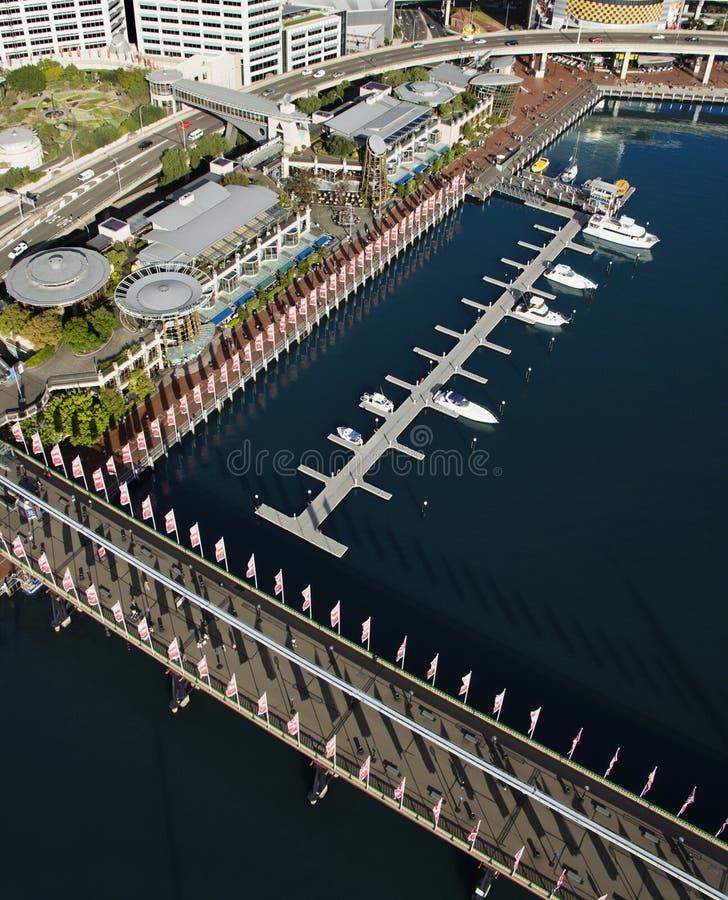 pyrmont моста Австралии стоковое фото